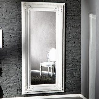 Stojanové zrkadlo Renaissance biela 210cm