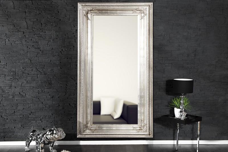 Stojanové zrkadlo Renaissance strieborná 180cm