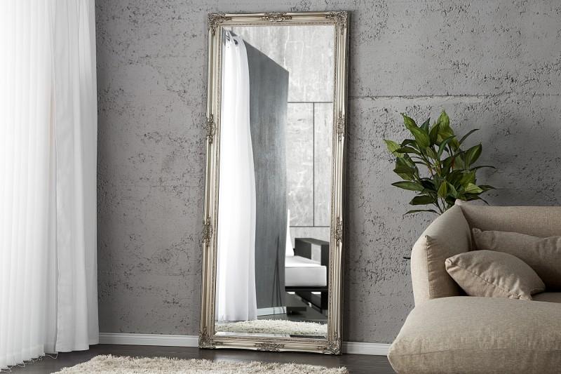 Stojanové zrkadlo Renaissance strieborná 185cm