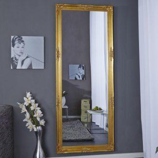 Stojanové zrkadlo Renaissance zlatá 185cm