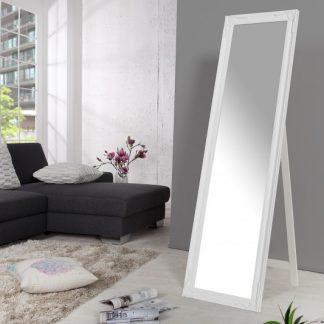 Stojanové zrkadlo Versailles 160cm biela