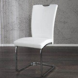 Stolička Amphion biela