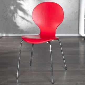 Stolička Form červená