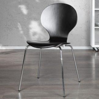 Stolička Form čierna