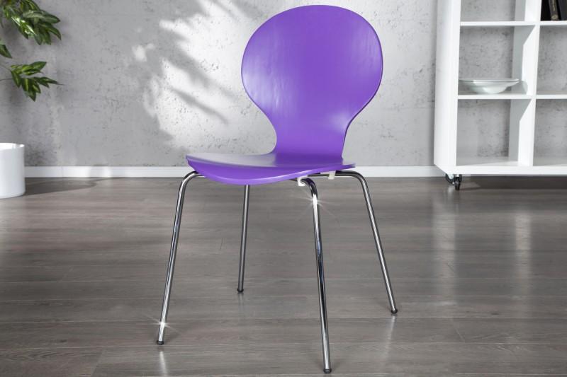 Stolička Form lila