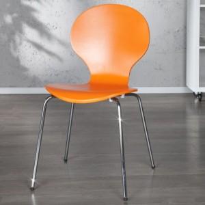 Stolička Form oranžová