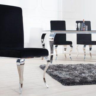 Stolička Modern Barock čierna