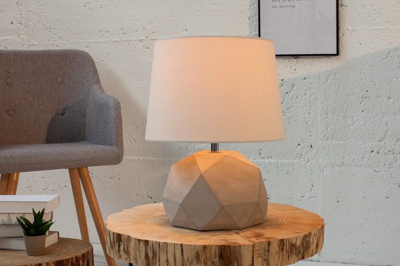 Stolová lampa Cement Collection II béžová