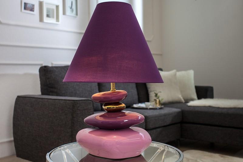 Stolová lampa Elegance Stones 60cm