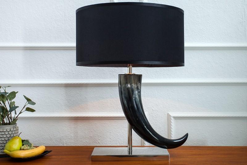 Stolová lampa Eleganz 65cm čierna