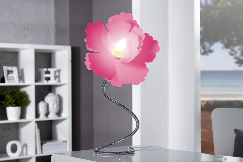Stolová lampa Florcita ružová