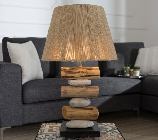 Stolová lampa Nature Stones 60cm