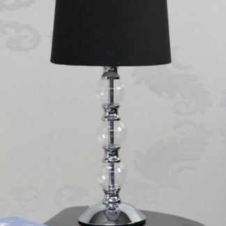 Stolová lampa Piana čierna