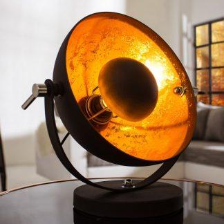 Stolová lampa Studio 40cm čiernozlatá