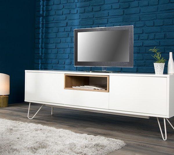 TV-stolík Baltic 150cm biela