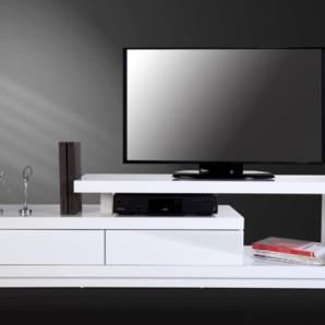 TV-stolík Spring biela biela 170cm