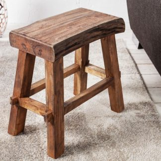 Taburet Hemingway 40cm - recyklované drevo