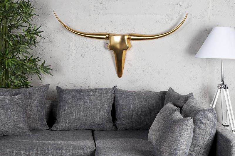 Trofej Bull zlatá hliník 125cm