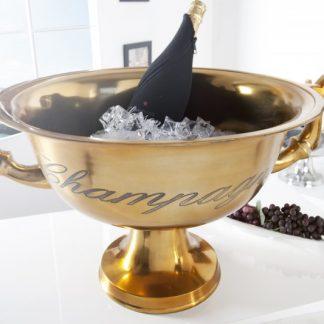 Vedro na sekt Champagne zlatá 65cm