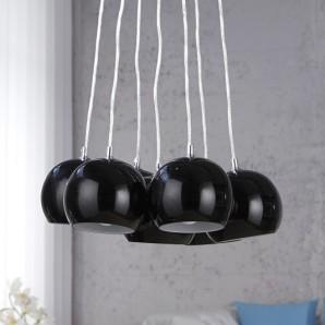 Závesná lampa Black Pearls