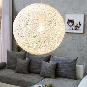Závesná lampa Cocoon M biela 35cm