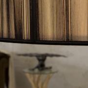 Závesná lampa Extenso čierna L