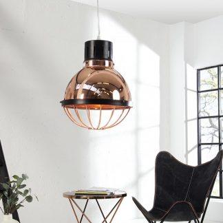 Závesná lampa Factory meď