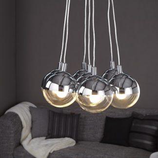 Závesná lampa Galante (7 gulí)