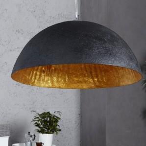 Závesná lampa Glow čiernozlatá 50cm