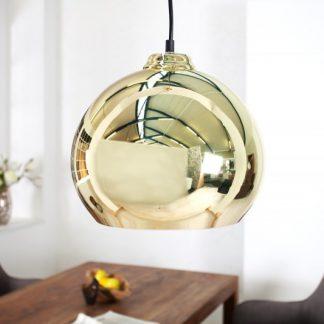 Závesná lampa Golden Ball