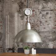 Závesná lampa High Pressure XL strieborná