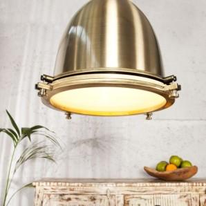 Závesná lampa Industrial bronzový 35cm