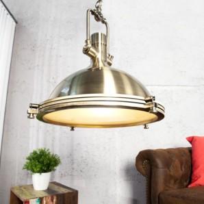 Závesná lampa Industrial bronzový 45cm