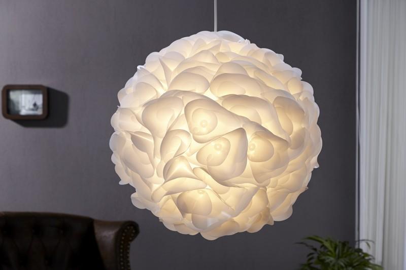 Závesná lampa Livia biela
