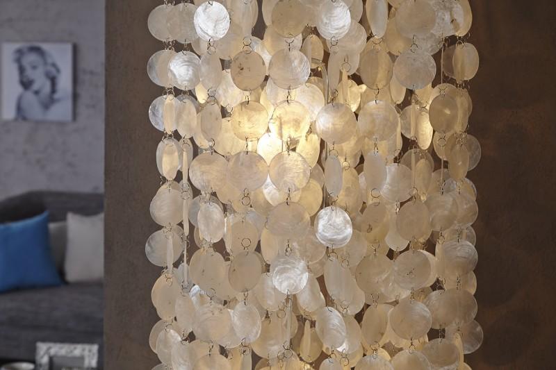 Závesná lampa Longshell Rings XL