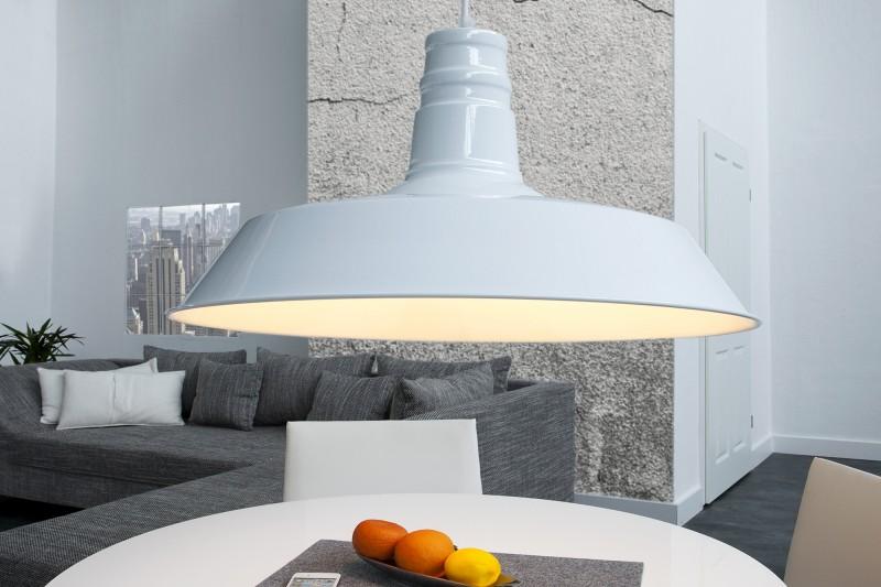 Závesná lampa Luca biela