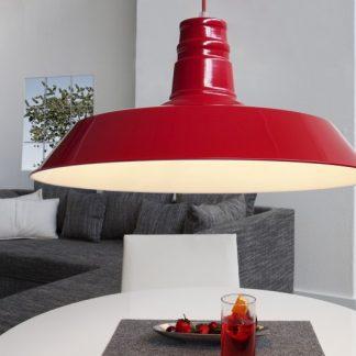 Závesná lampa Luca ružová