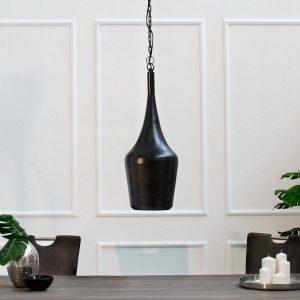 Závesná lampa Modern Orient S čierna meď