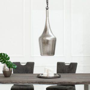 Závesná lampa Modern Orient S strieborná