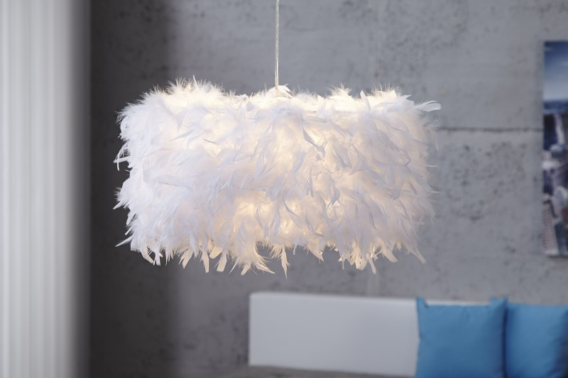 Závesná lampa Paradise biela