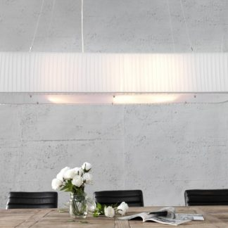 Závesná lampa Paris 100cm biela