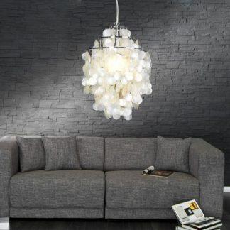 Závesná lampa Shell Rings L