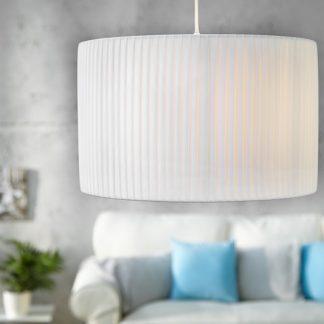 Závesná lampa Sobrieta biela  40cm
