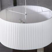 Závesná lampa Sobrieta biela  65cm