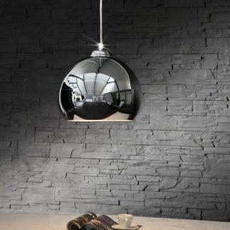 Závesná lampa chrómagon