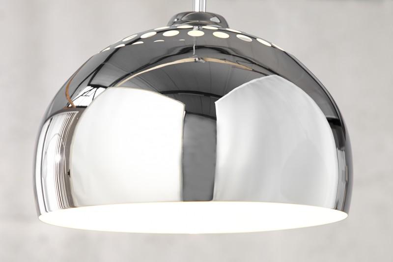 Závesná lampa chróme Ball