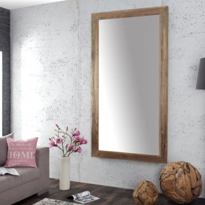 Zrkadlo Frame 200cm - recyklované drevo
