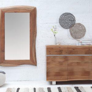Zrkadlo Hemingway 120cm agát