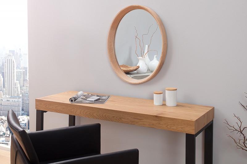 Zrkadlo Oak oval dub