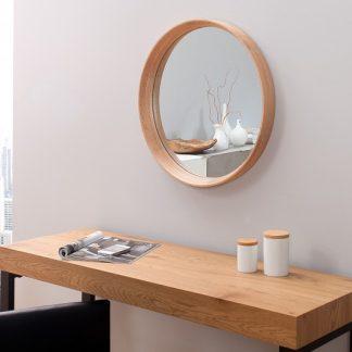 Zrkadlo Oak rund dub